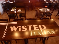 Twisted Italian table